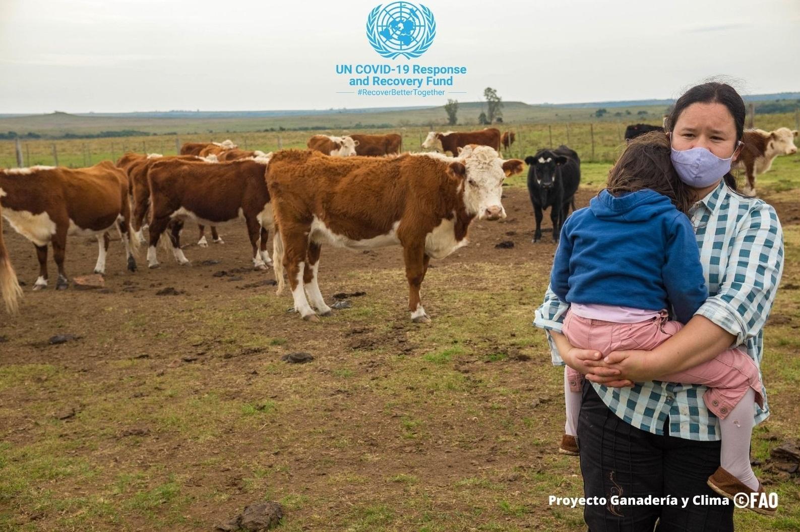Naciones Unidas en Uruguay y AUCI alcanzan un acuerdo para el fortalecimiento de la respuesta socioeconómica en contexto Covid-19.