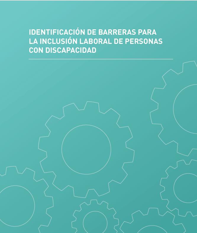 portada del informe Barreras ara la inclusión laboral de personas con discapacidad